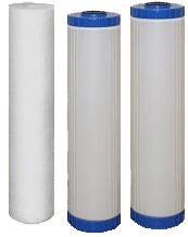 Комплект картриджей для фильтра Водолей-БКП высокопроизв